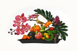 Grow Orchids and Vegetables
