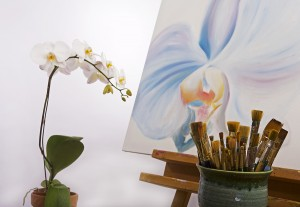 Painting Phalaenopsis